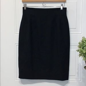Christian Dior skirt pure wool vintage 8 NWT lined